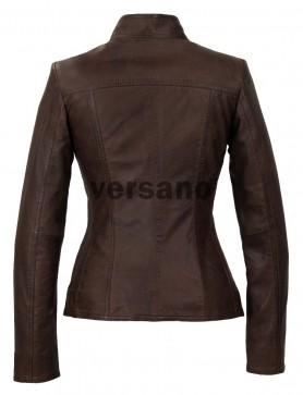Goedkoop leren jasje dames gekocht